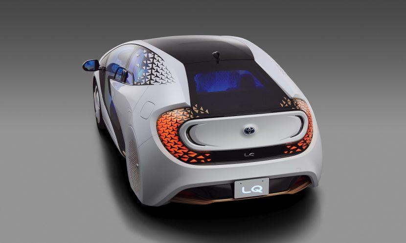 Toyota eléctrico LQ