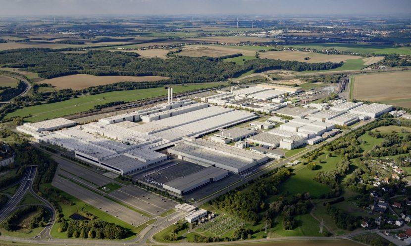 Fábrica de Volkswagen en Zwickau, Alemania
