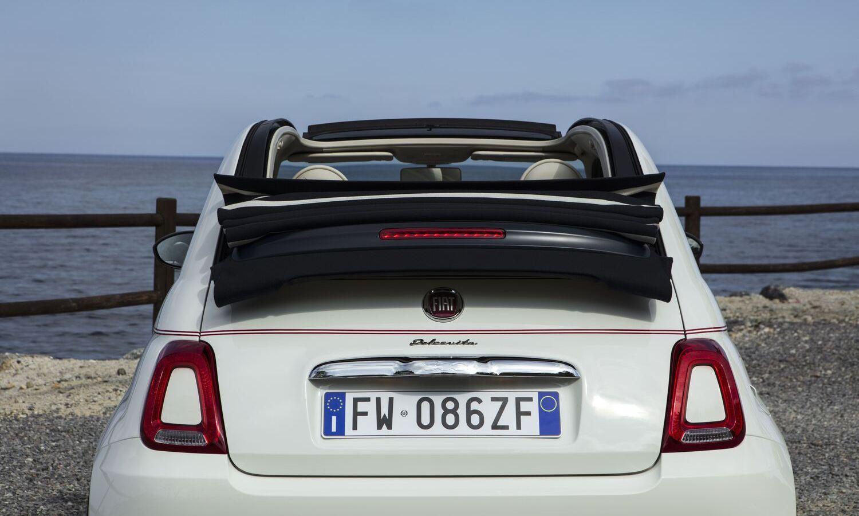 Fiat 500C Dolcevita rear