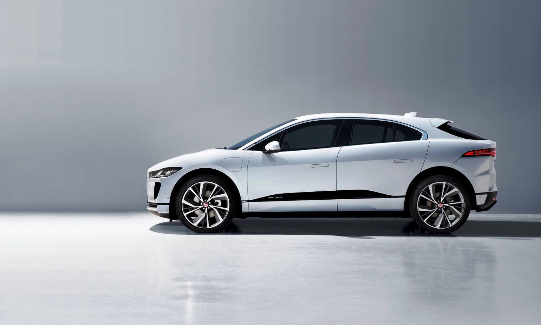 Jaguar I-Pace side