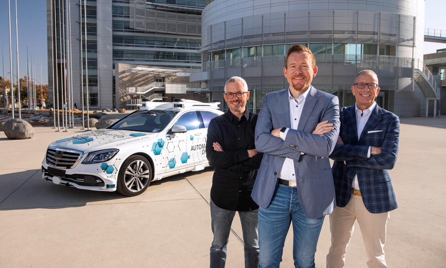 Mercedes-Benz Clase S y Bosh automated driving