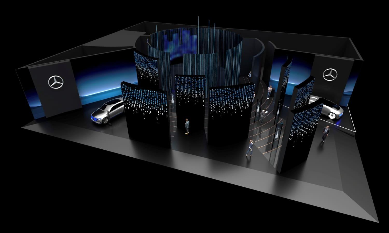 Mercedes-Benz - Las Vegas Consumer Electronics Show (CES) 2020