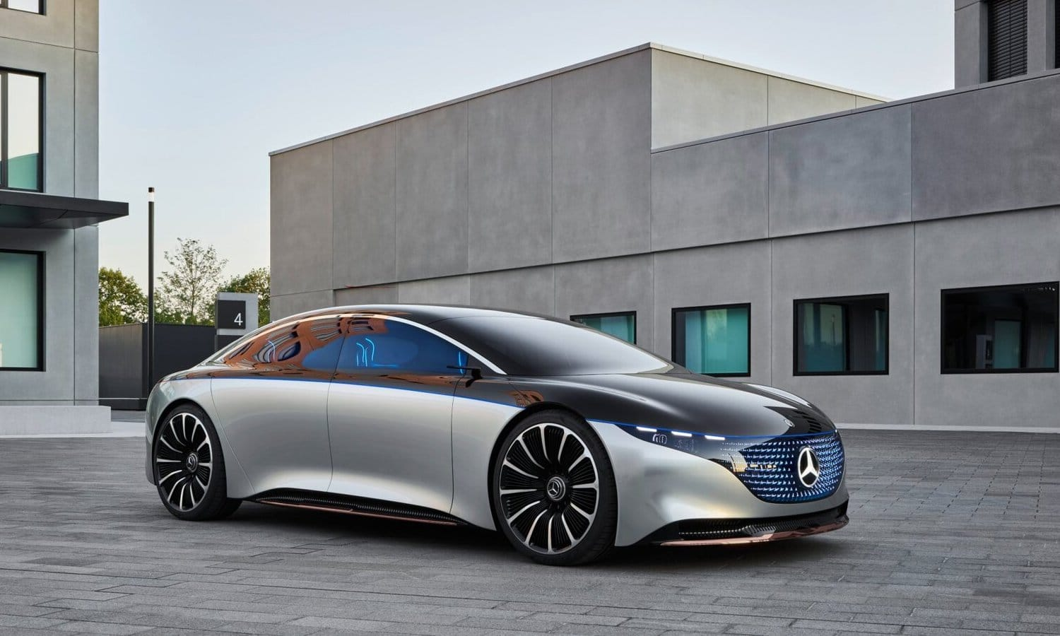 Mercedes-Benz Vision EQS show car