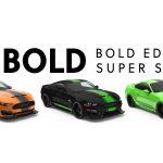 Colores de la Bold Edition