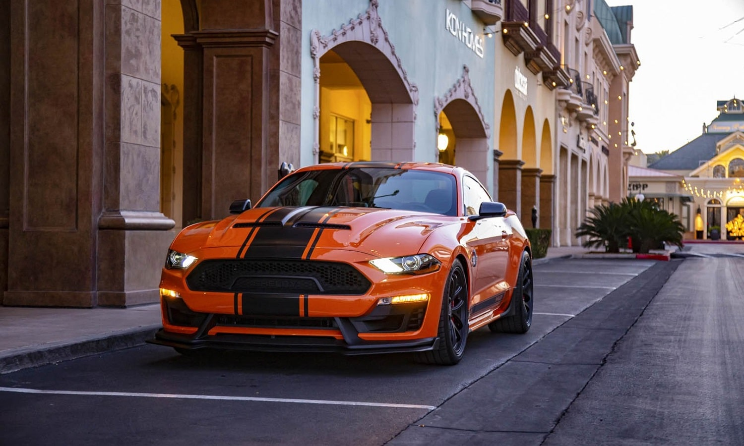 Frontal del Shelby Super Snake 2020 Bold Edition