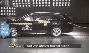 Skoda Octavia 2020 EuroNCAP front crash test 1