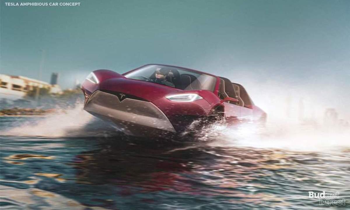 Tesla Amphibious car
