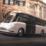 Tesla City transit bus