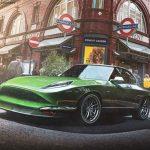 Tesla Classic sports car