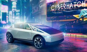 Tesla Cyberhatch render