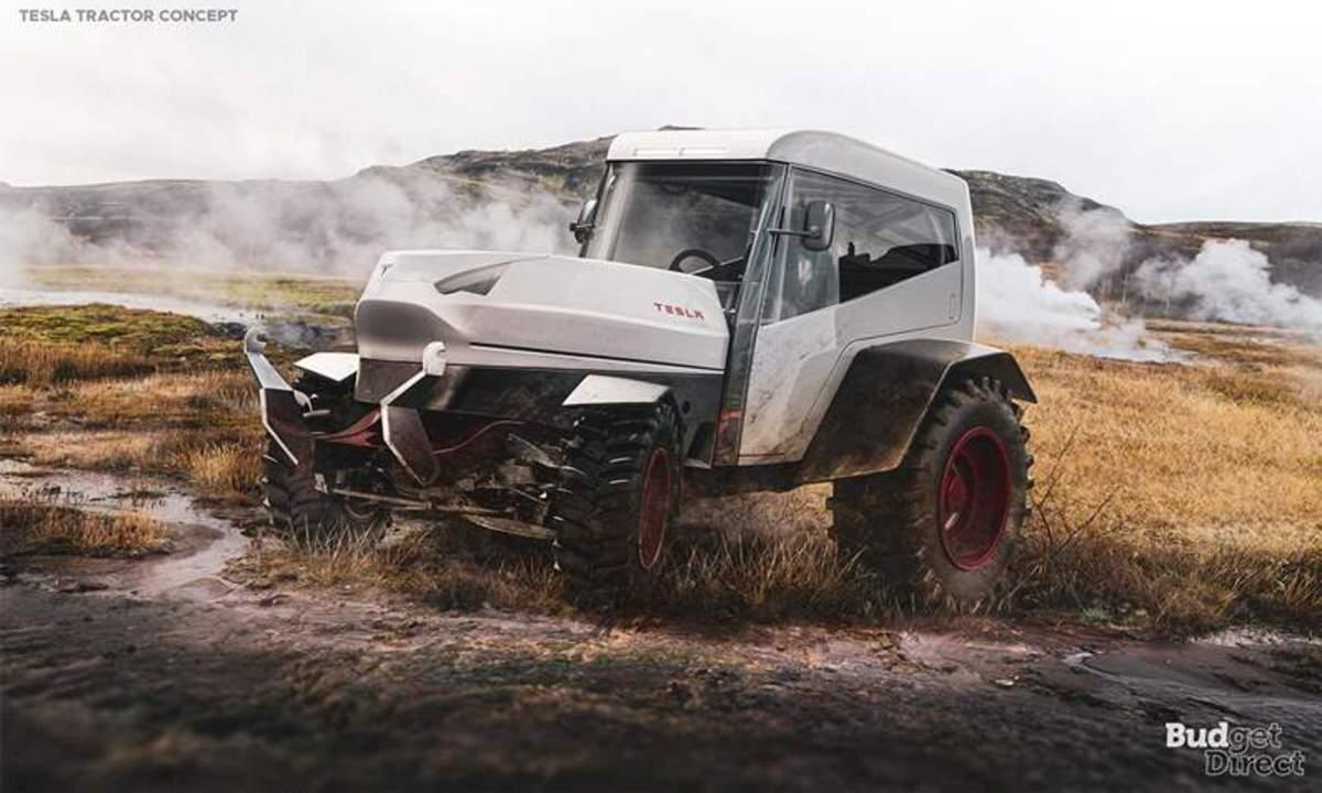 Tesla Tractor