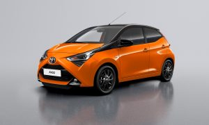 Toyota Aygo X-cite front