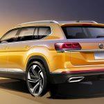 Volkswagen Atlas boceto zaga 2021