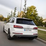Audi Q7 60 TFSIe híbrido enchufable dinámica trasera
