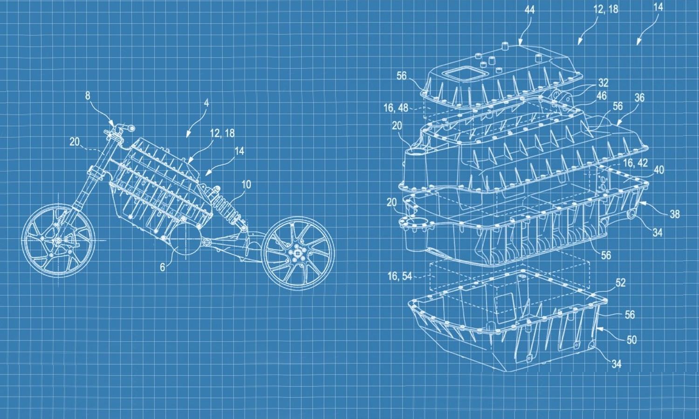 Patente de BMW para la carga eléctrica de motos