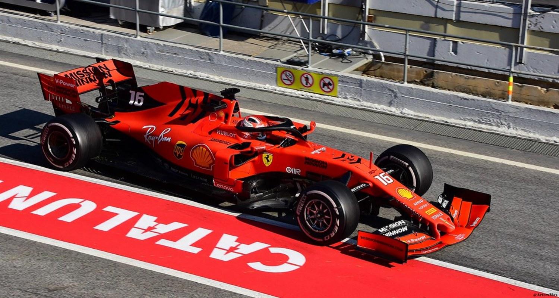Ferrari de Leclerc