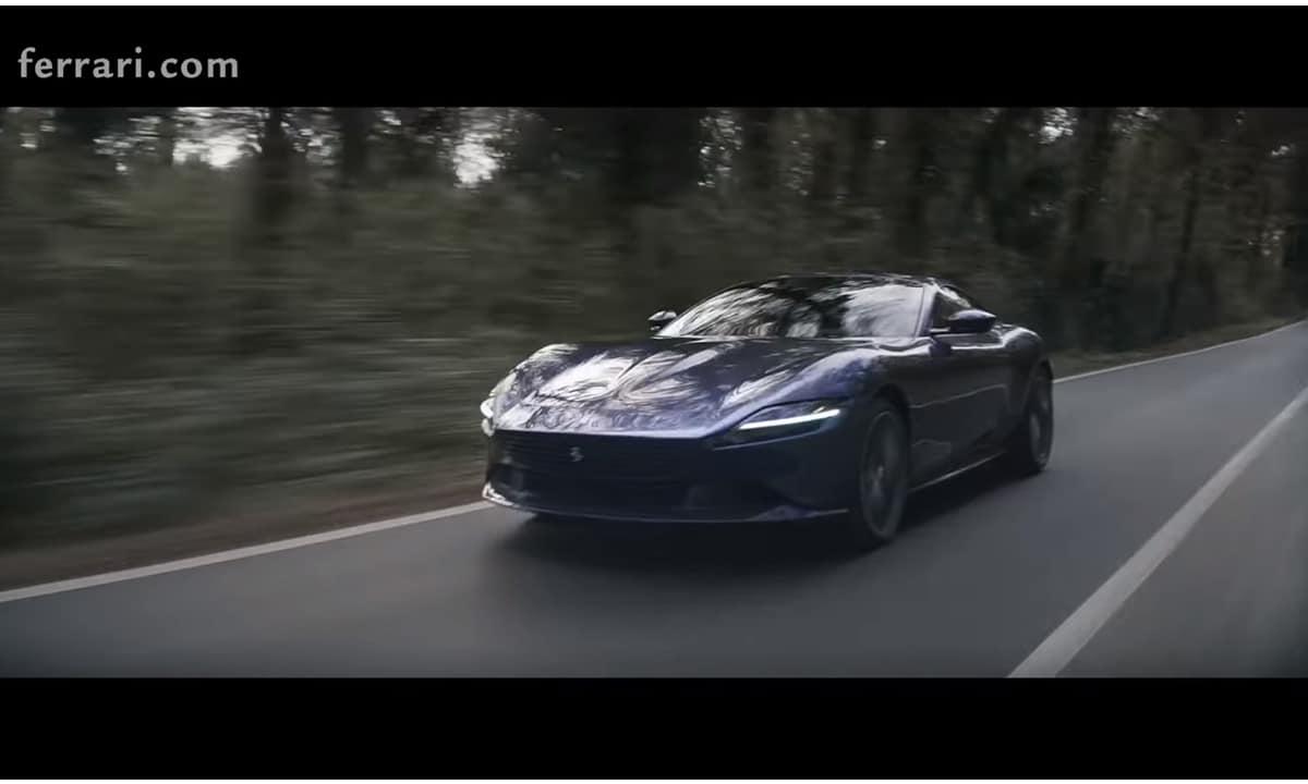 Ferrari Roma vídeo