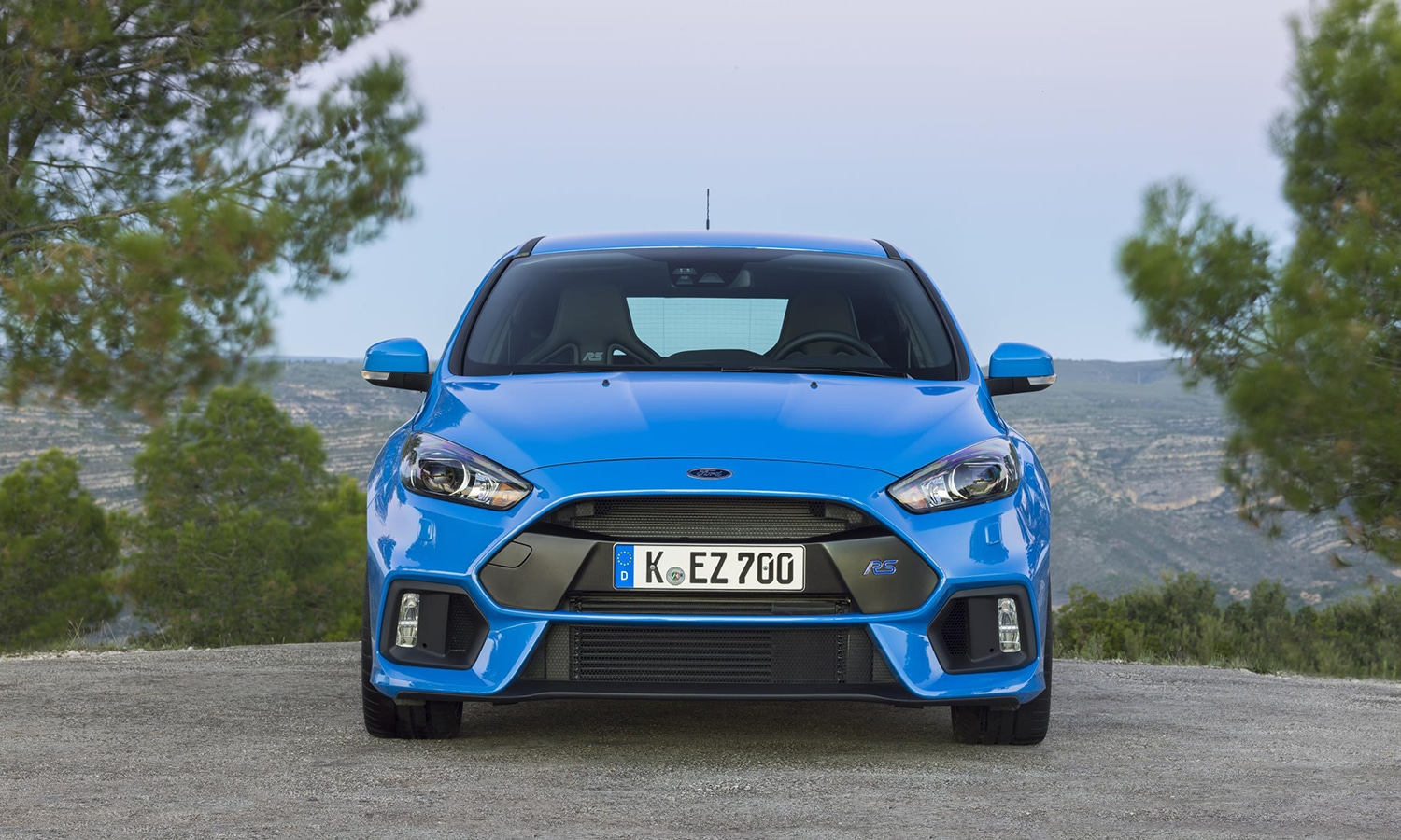 Ford Focus RS mkiii frontal
