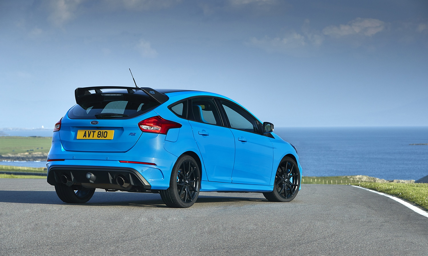 Ford Focus RS mkiii perfil trasero