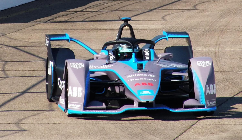 Fórmula E coche de frente