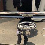 Nuevo logo de Kia en el maletero