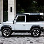 Lateral del Land Rover Defender Blackcomb