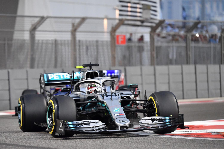 Mercedes F1 2019 Yas Marina