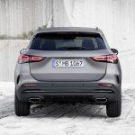 Mercedes GLA 2020 parte trasera