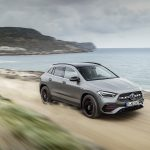 Mercedes GLA dinámica perfil delantero