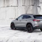 Mercedes GLA 2020 perfil trasero