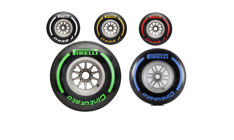 Pirelli compuestos de F1
