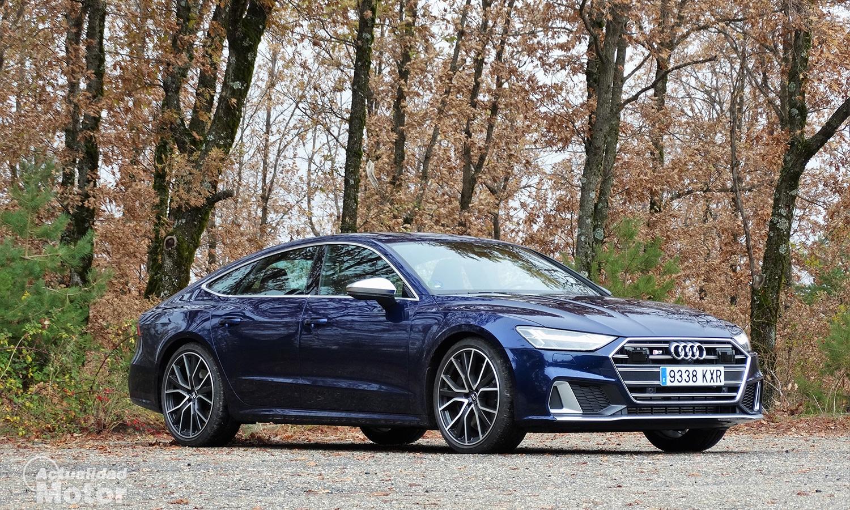 Prueba Audi S7 perfil