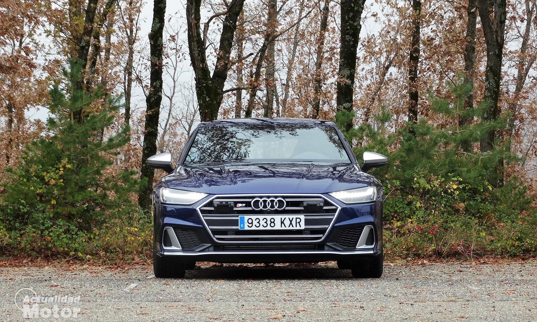 Prueba Audi S7 frontal