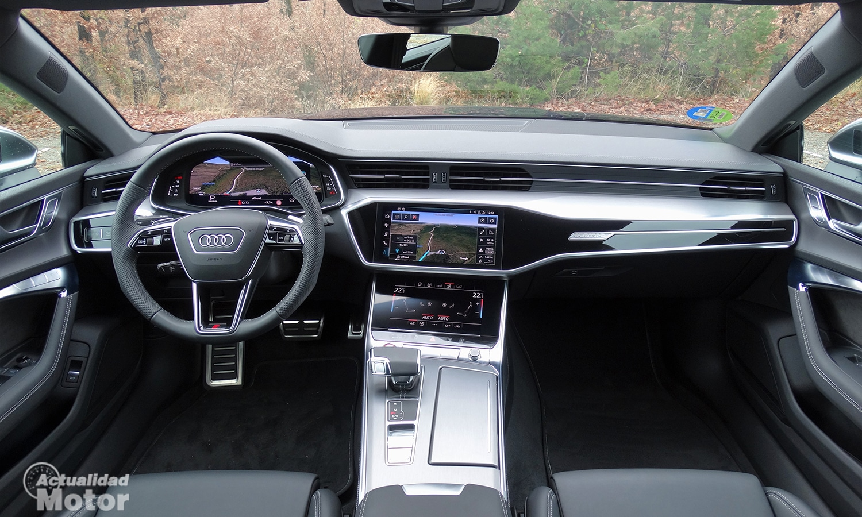 Prueba del Audi S7 TDI diseño interior