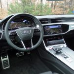 Prueba del Audi S7 TDI salpicadero