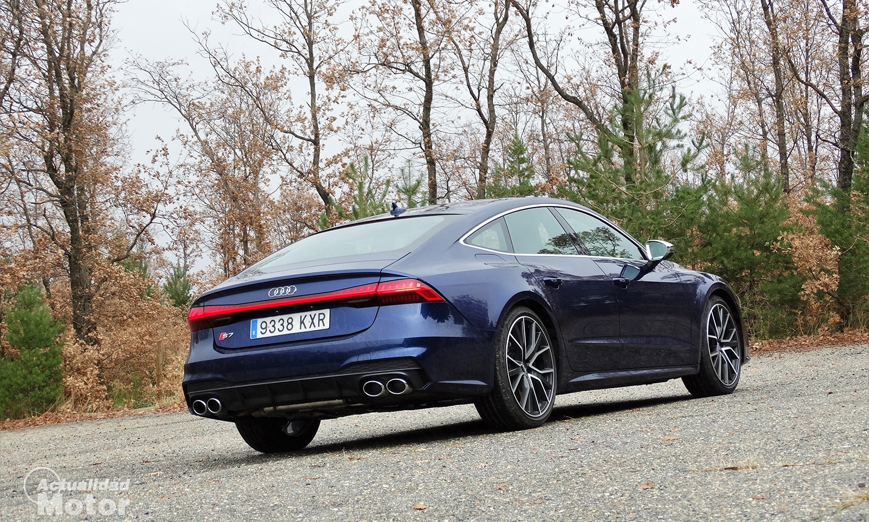 Prueba Audi S7 perfil trasero