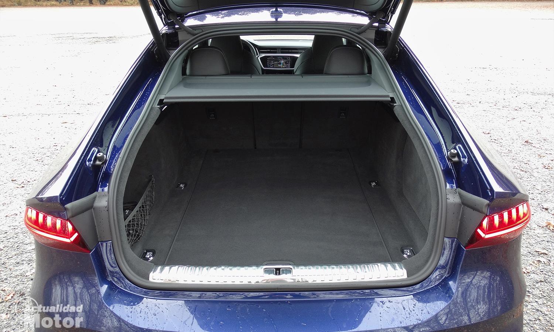 Prueba Audi S7 Sportback TDI maletero