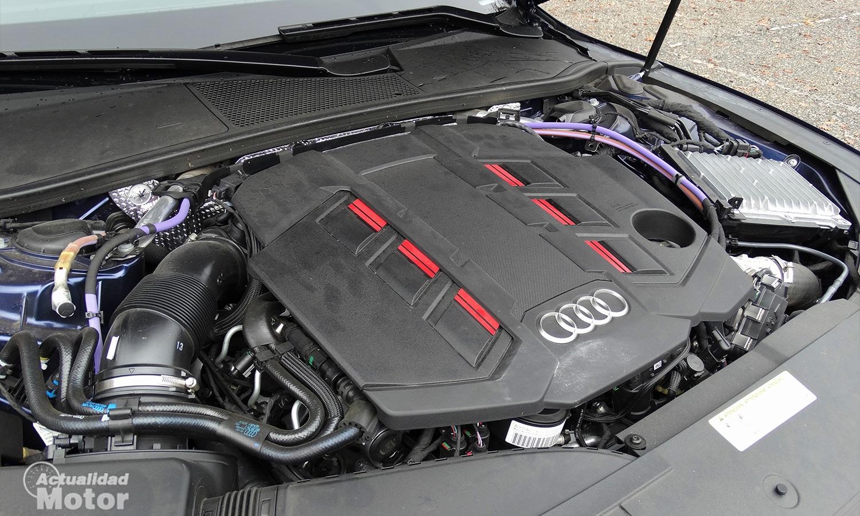 Prueba Audi S7 Sportback TDI motor 3.0 V6