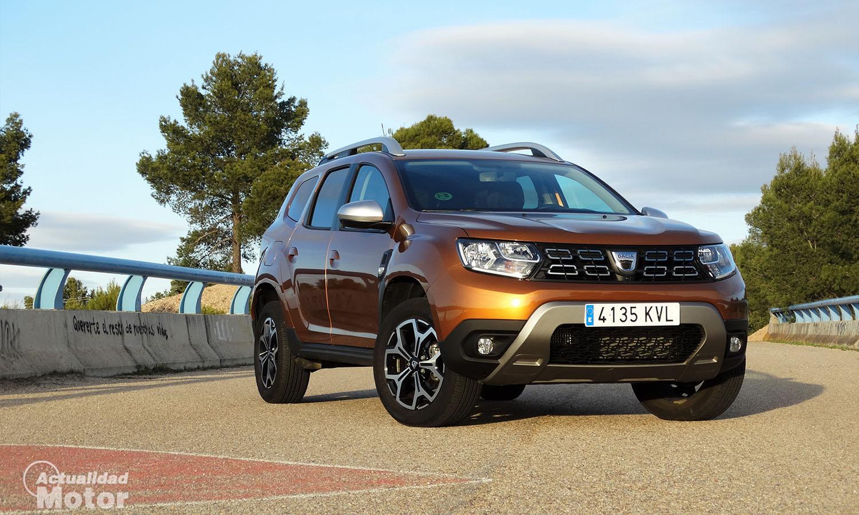 Prueba Dacia Duster perfil frontal