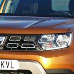 Prueba Dacia Duster detalle frontal