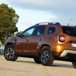 Prueba Dacia Duster perfil posterior