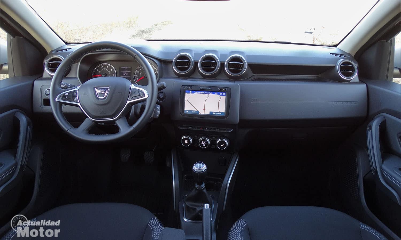 Prueba Dacia Duster salpicadero
