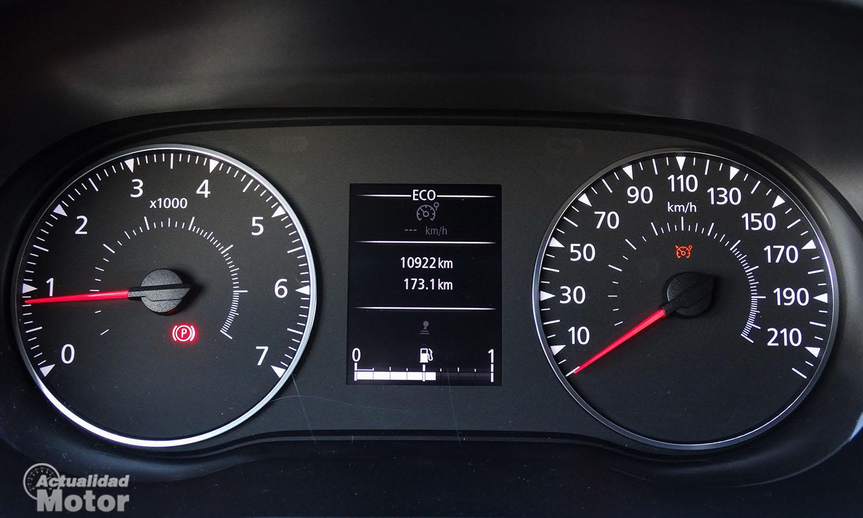 Prueba Dacia Duster cuadro de instrumentos