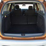 Dacia Duster maletero con asientos tumbados