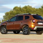 Prueba Dacia Duster perfil trasero