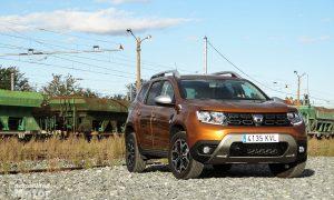 Prueba Dacia Duster delantera