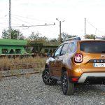 Prueba Dacia Duster parte trasera