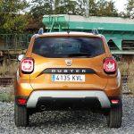 Prueba Dacia Duster trasera