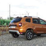 Prueba Dacia Duster trasera derecha
