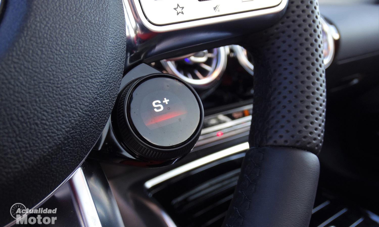 Prueba Mercedes-AMG A 35 Sedán botón modos de conducción